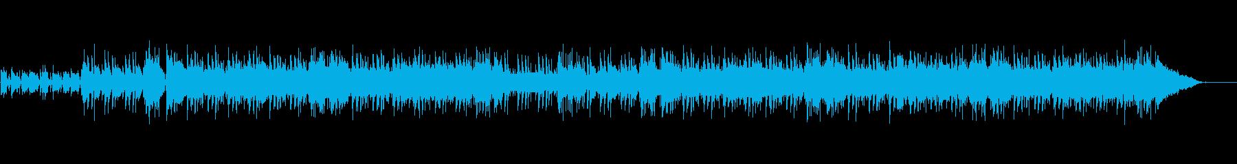 アコギがメインのさわやかなPOPS曲の再生済みの波形