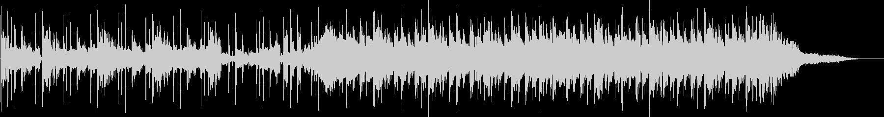 30秒CM向けエレクトロポップの未再生の波形