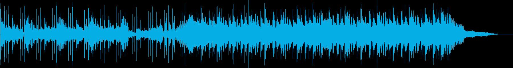 30秒CM向けエレクトロポップの再生済みの波形