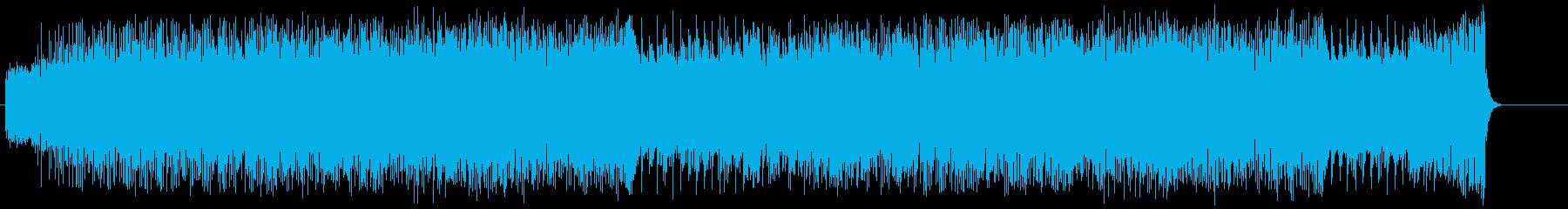 忙しい 元気 前進 情報 はつらつの再生済みの波形