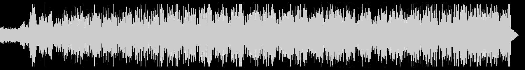 ベースのうねったリズムのダークなテイストの未再生の波形