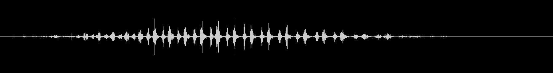 シェーカー ウッドラトルダイナミック04の未再生の波形