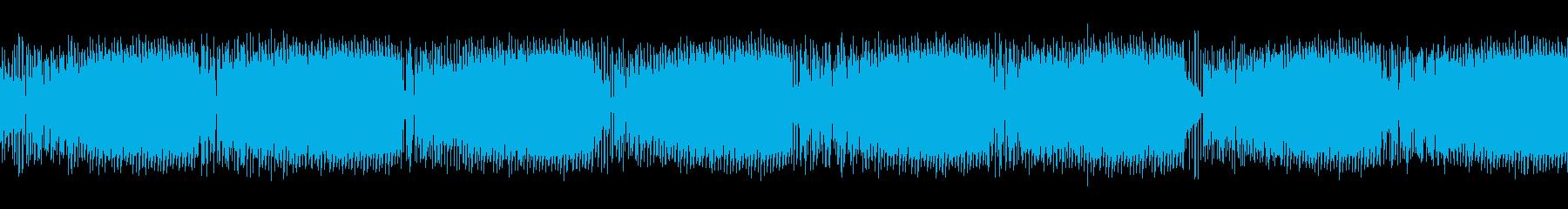 遊技機で使う煽り音の再生済みの波形