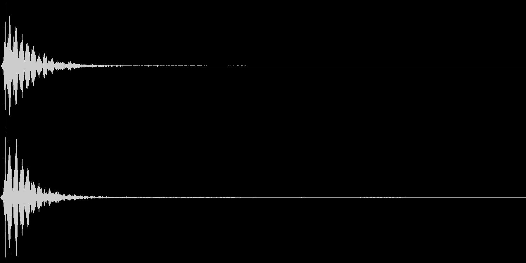 キーン(コイントス・決定・通知音)の未再生の波形