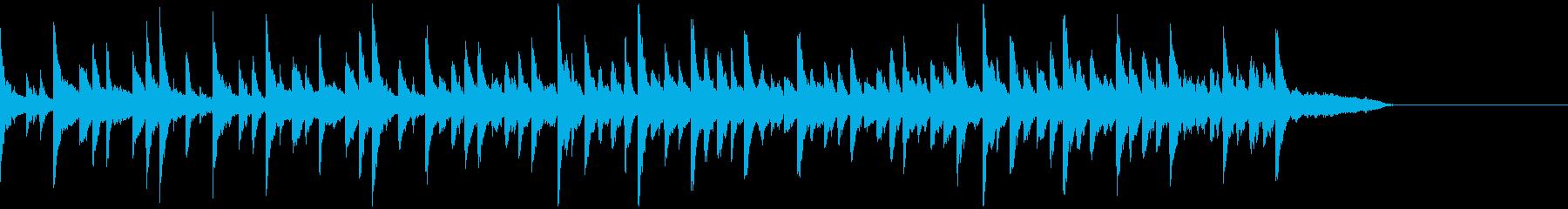 新しい何かをスタートさせる音楽の再生済みの波形