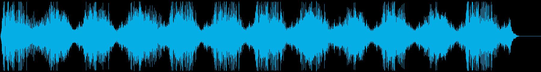 機械稼働音 3の再生済みの波形