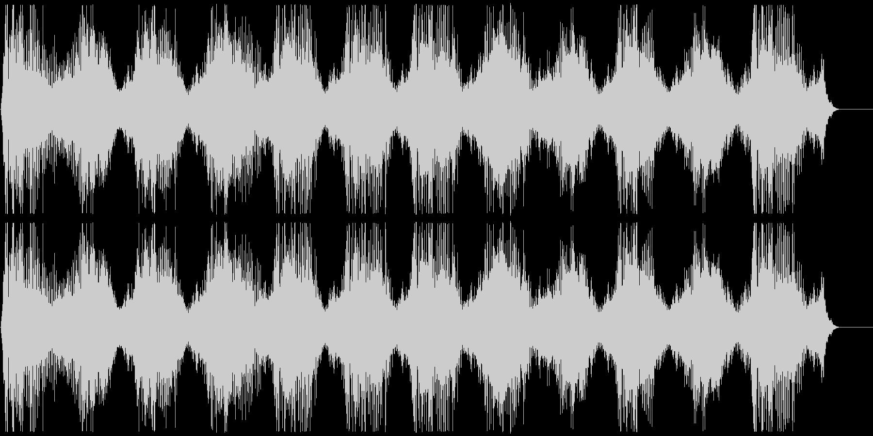 機械稼働音 3の未再生の波形