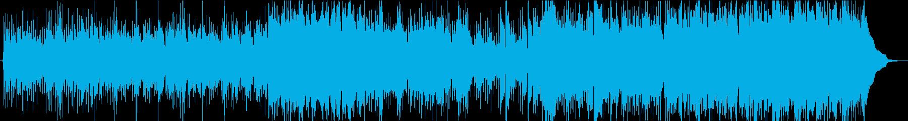 ケルトなキャンプなどに使えるBGMの再生済みの波形