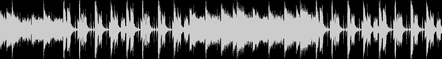 ゆったりコミカル/静かめカラオケ/ループの未再生の波形