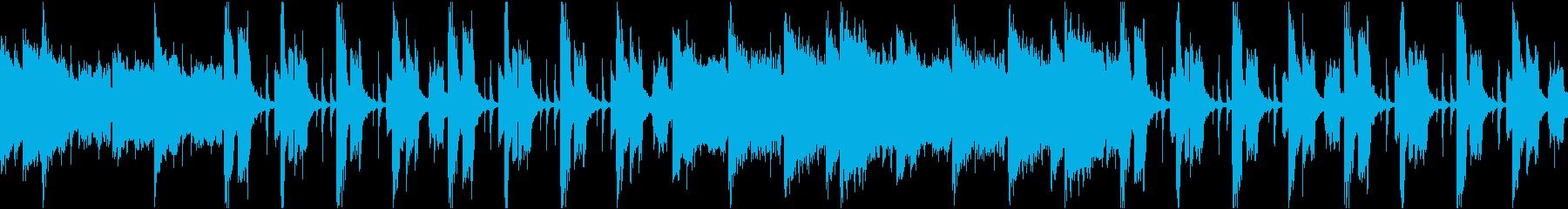 ゆったりコミカル/静かめカラオケ/ループの再生済みの波形