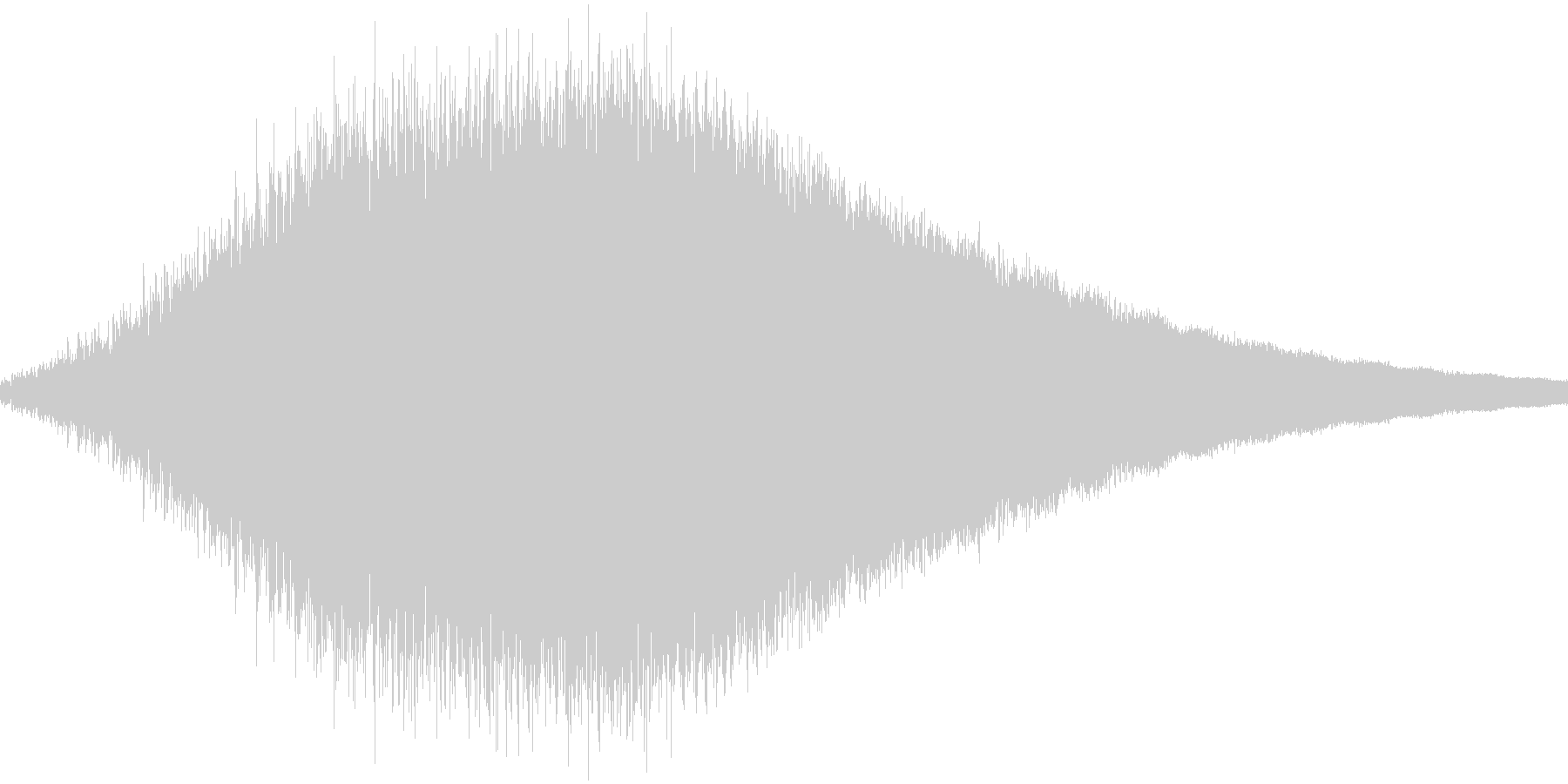 RPG:光魔法音「シュワーン」の未再生の波形
