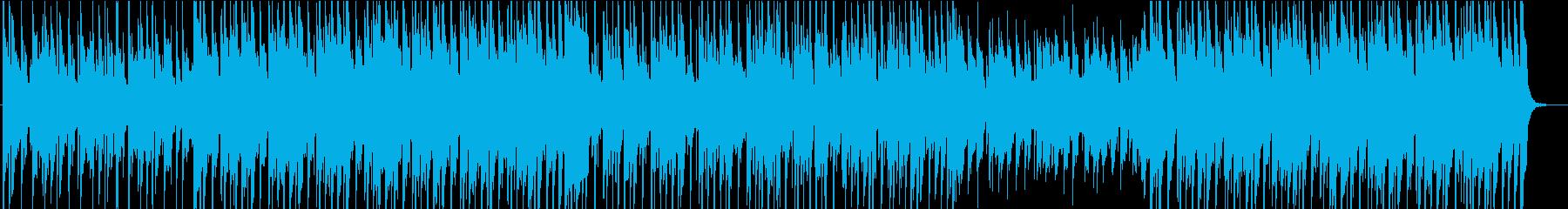 夏 アップテンポ ウクレレの再生済みの波形