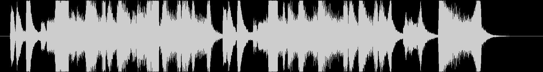 ダークでかっこいいブラスイントロの未再生の波形