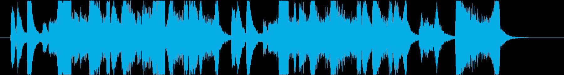 ダークでかっこいいブラスイントロの再生済みの波形