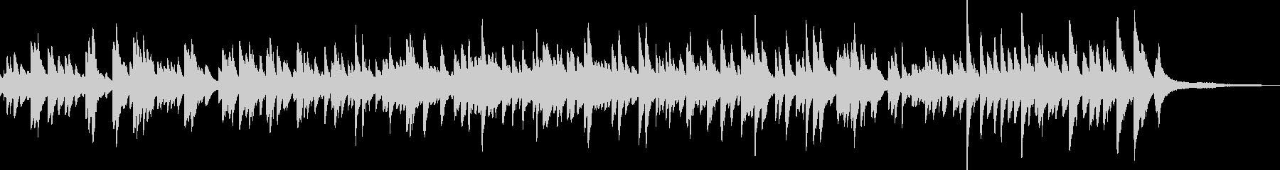 優しい 明るめの ピアノソロ バラードの未再生の波形