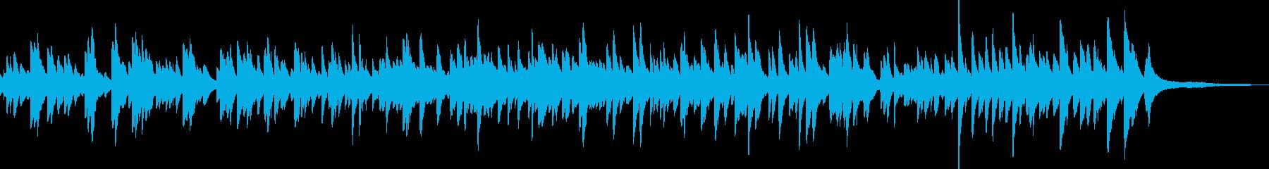 優しい 明るめの ピアノソロ バラードの再生済みの波形