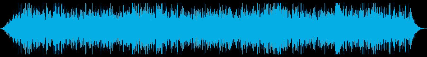 小さな地震:光破壊と岩のスライドの再生済みの波形