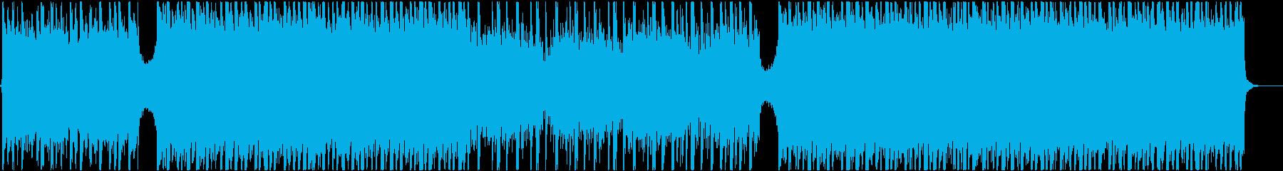 最新HipHopと感動系の高次元ミックスの再生済みの波形