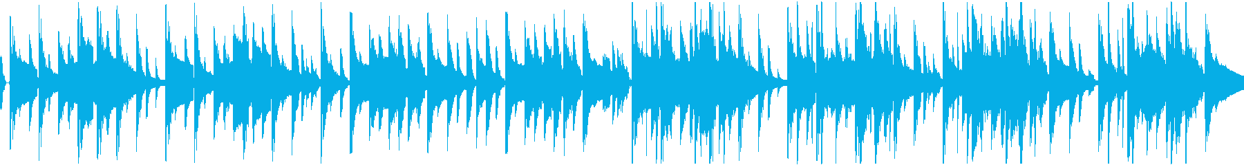 アングラショップのようなダーティBGMの再生済みの波形