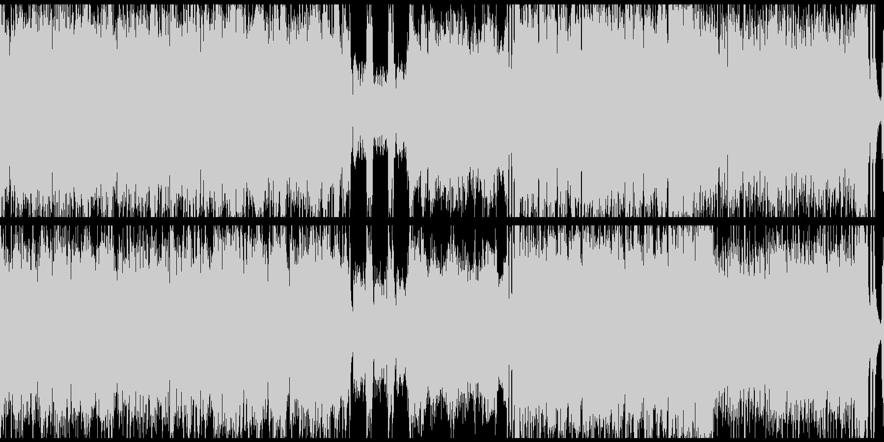 軽快で楽しいケルト曲(ループ)の未再生の波形
