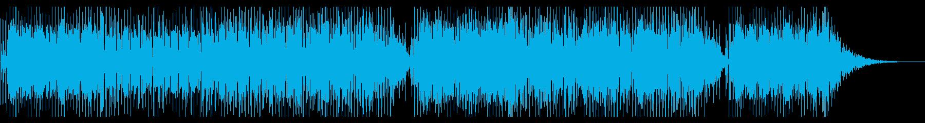 2時間ドラマのエンディング風シティポップの再生済みの波形