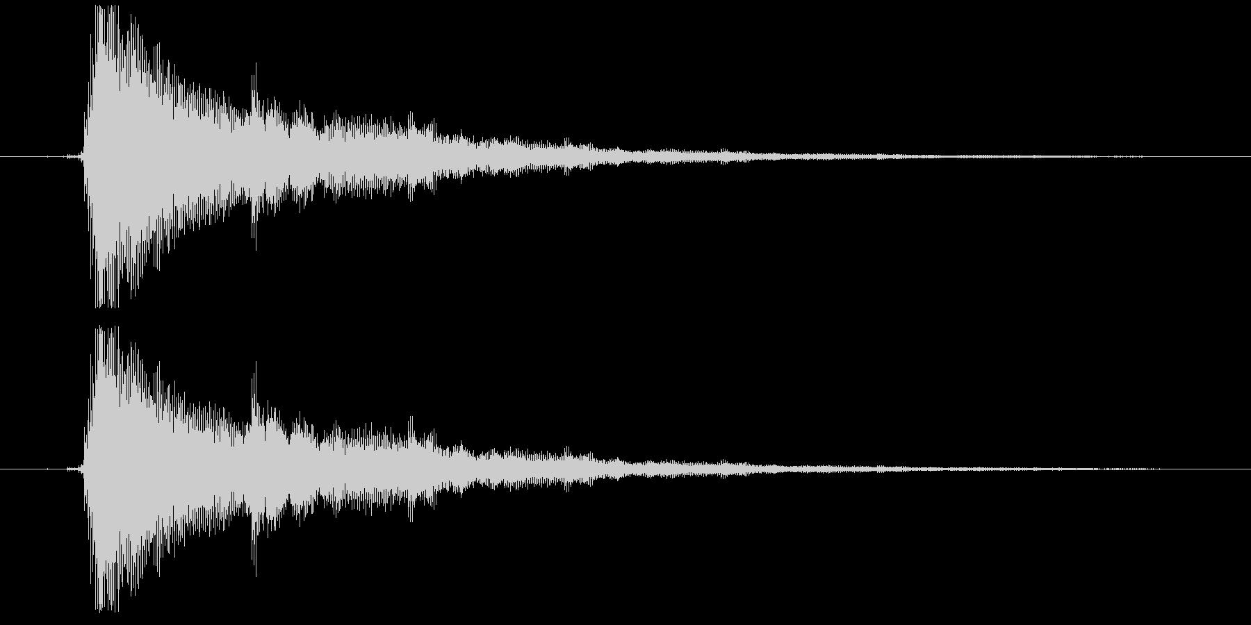 効果音(エレキギター)2の未再生の波形