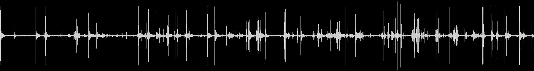 ジムメタルクランクの未再生の波形