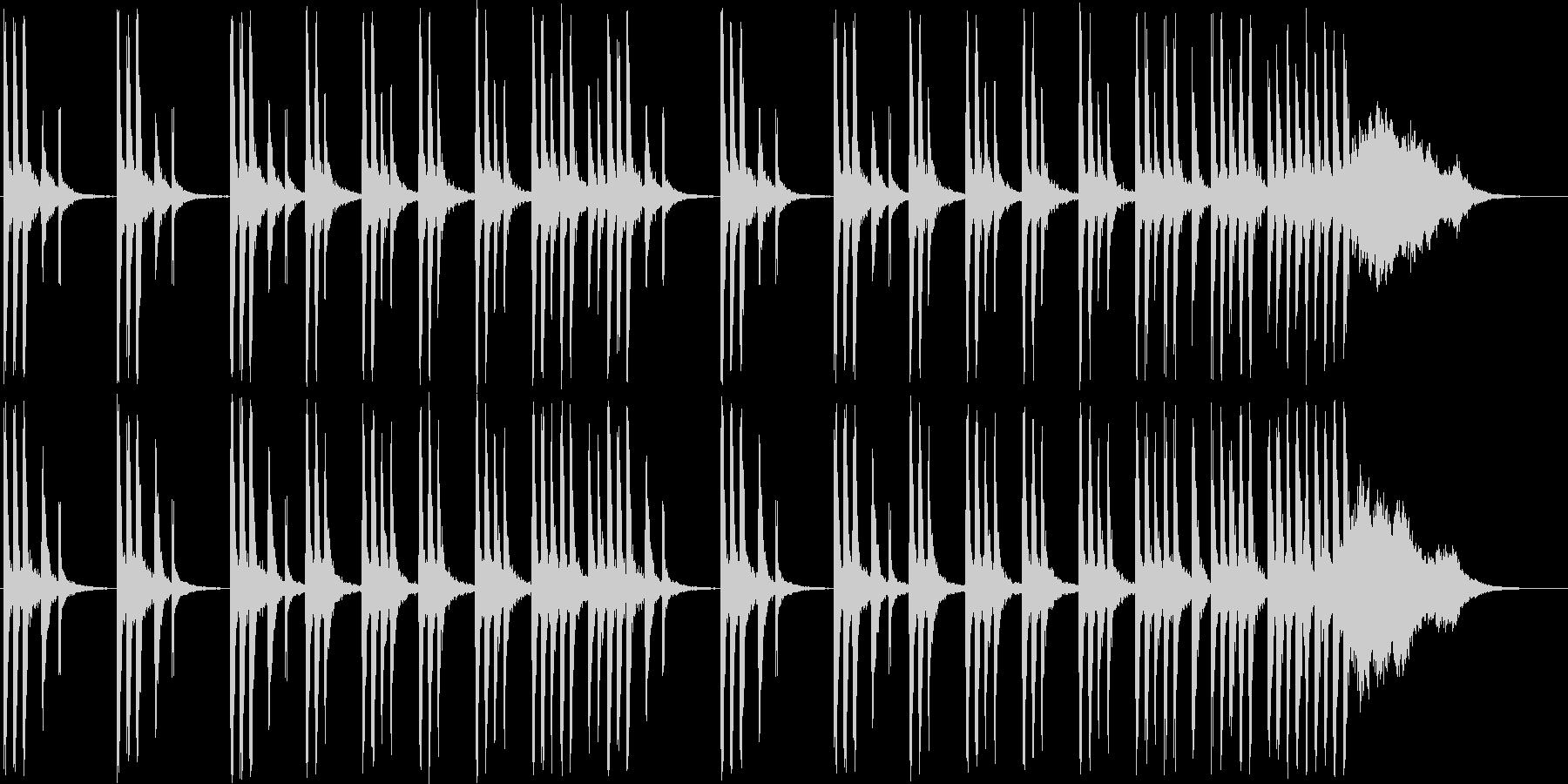 メルヘンな木琴・シンセなど短めの未再生の波形