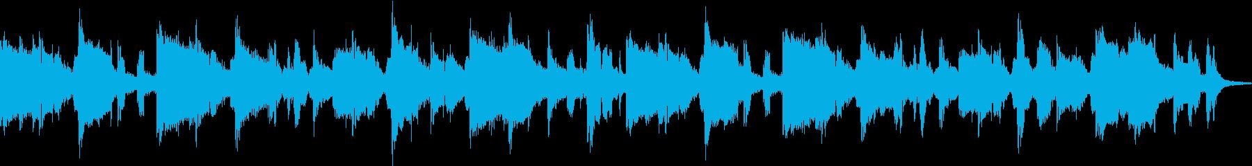 ハモニカ・アメリカンカントリーの再生済みの波形