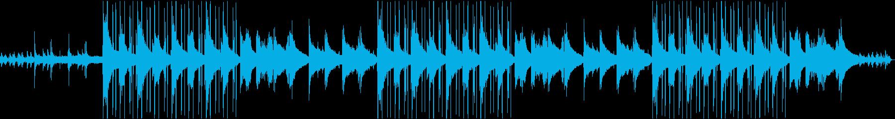 二人の時間。Lofi Hip Hopの再生済みの波形