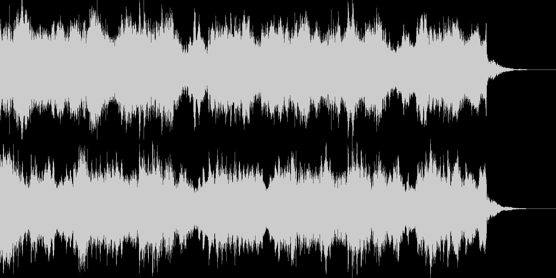 【ホラー・SF系】サスペンス等のBGMの未再生の波形