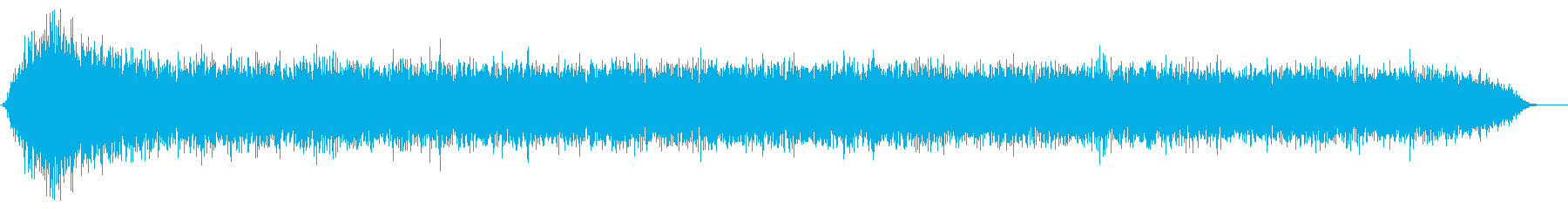スキューバ機器:フォリー:マウスピ...の再生済みの波形