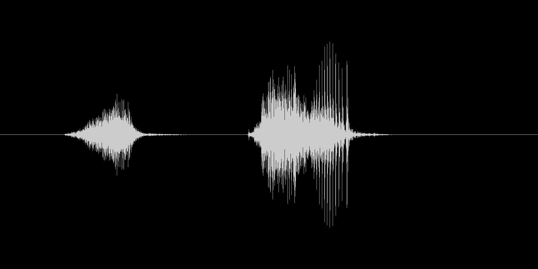 7(7、しち)の未再生の波形