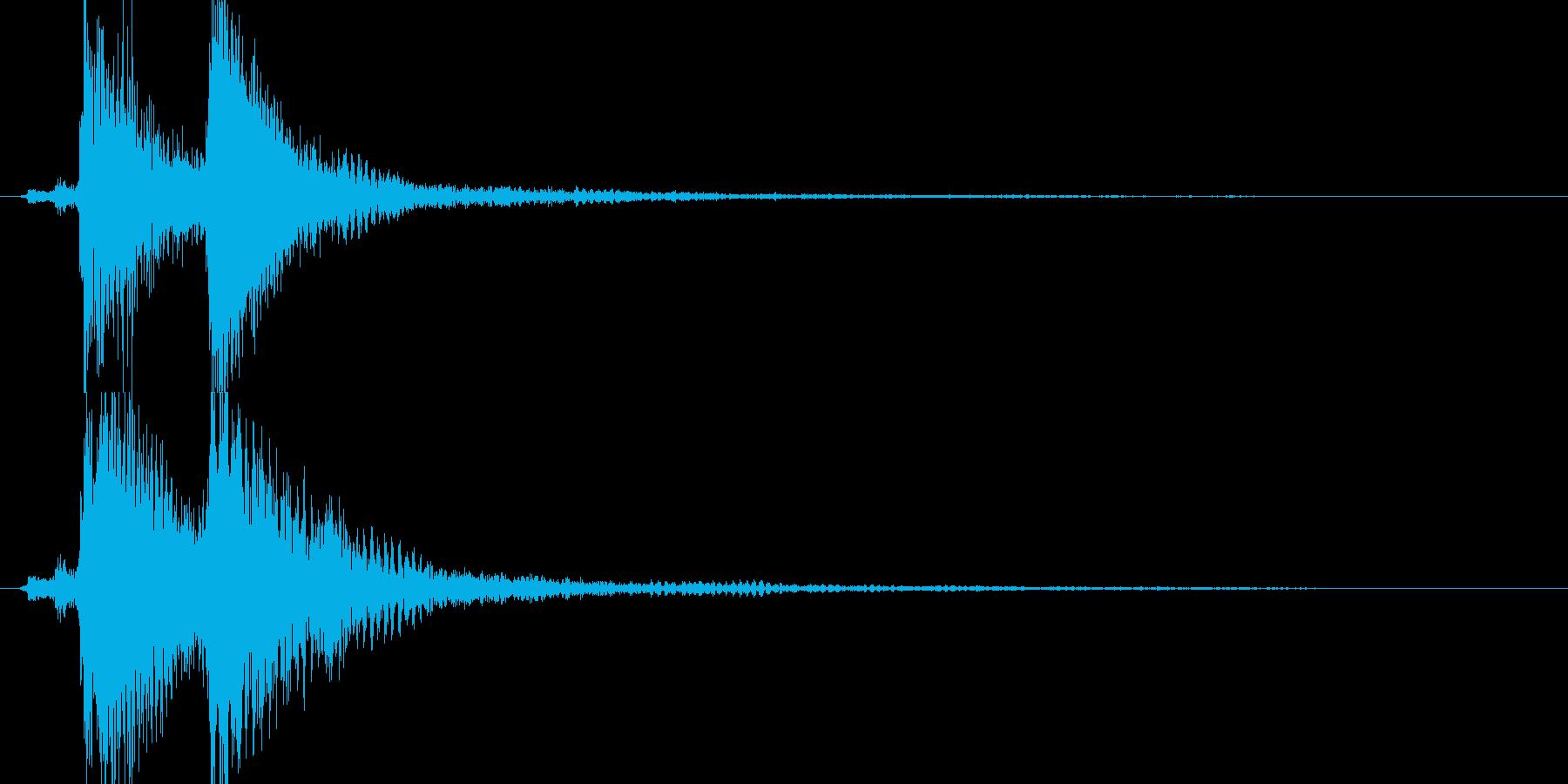 場面展開・アイキャッチ的ジングル(短め)の再生済みの波形
