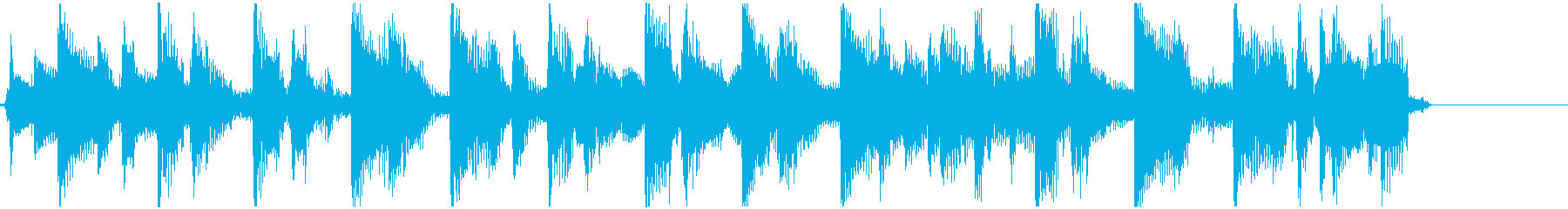 ファルセットボーカルフック付きの軽...の再生済みの波形