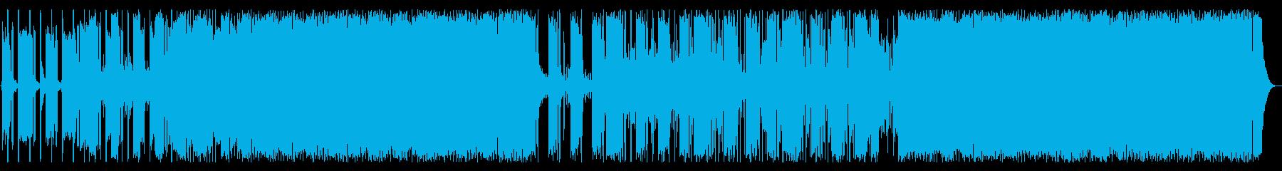 ジムで聞きたいハードロックの再生済みの波形