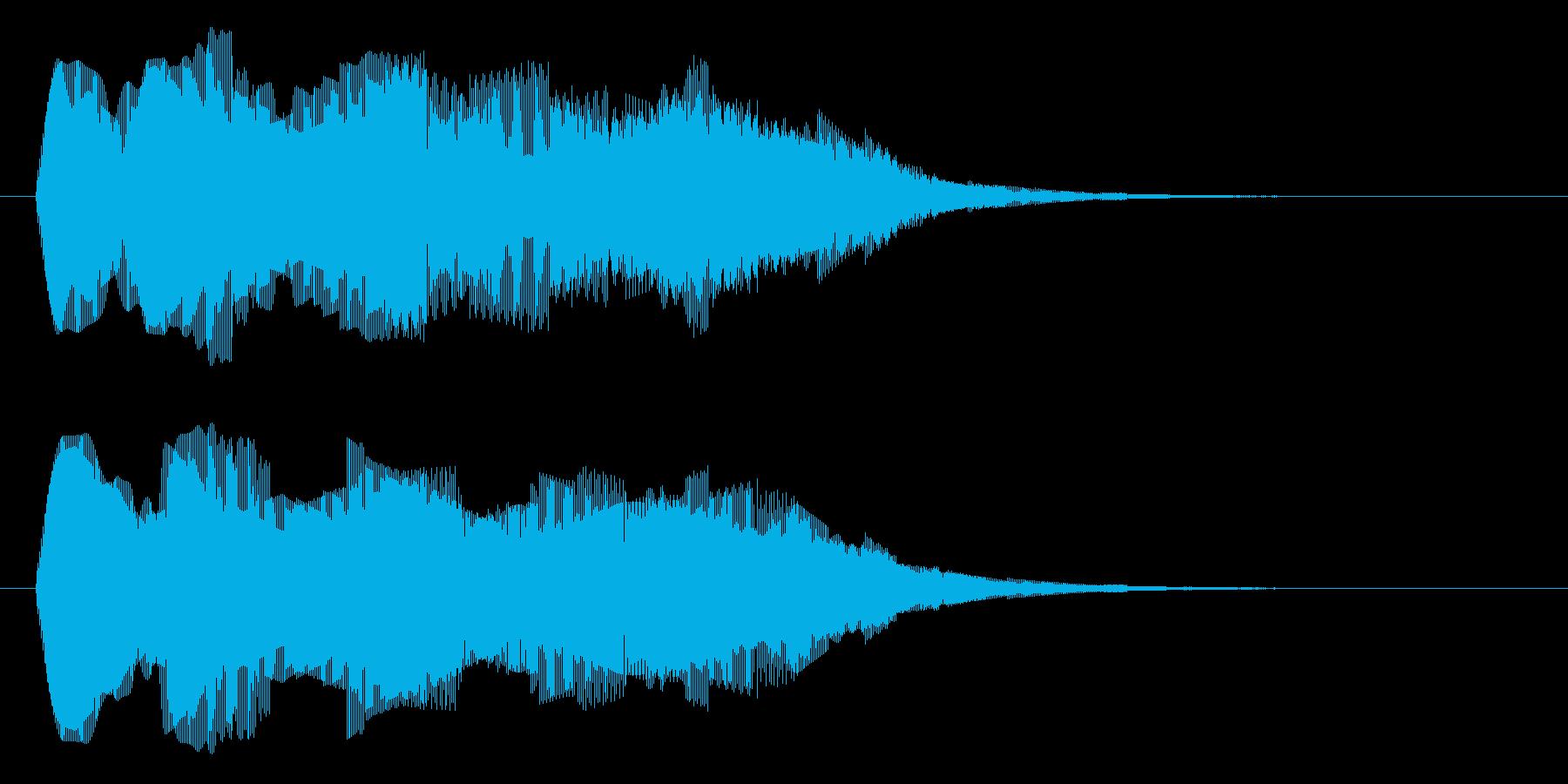 ブォワォーーーーーーの再生済みの波形
