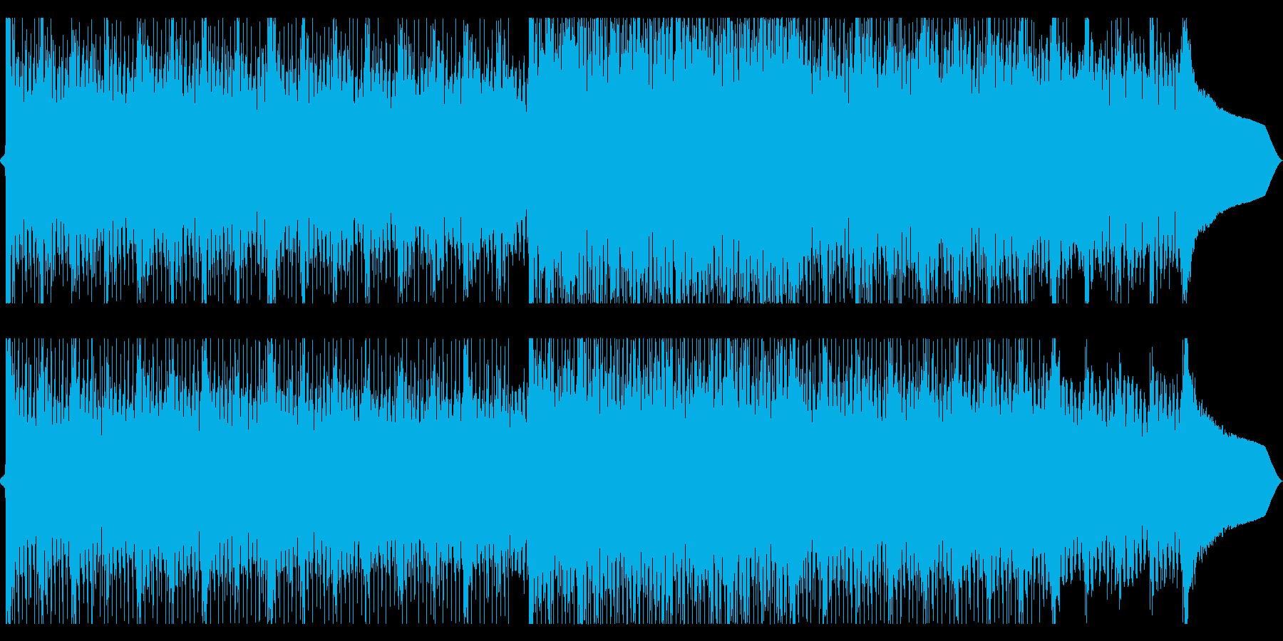 企業VP 爽やかでエモいEDM(声無し)の再生済みの波形