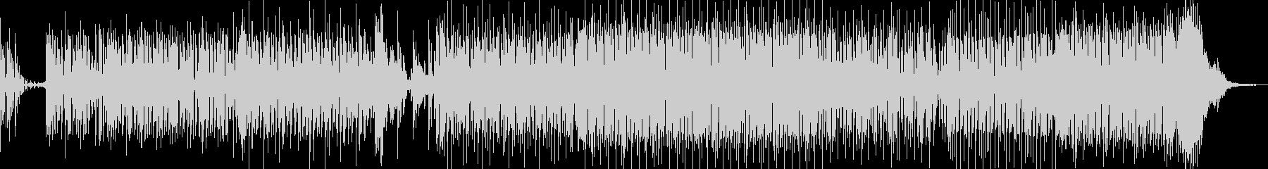 アニメ、クイズ系の軽いBGMの未再生の波形