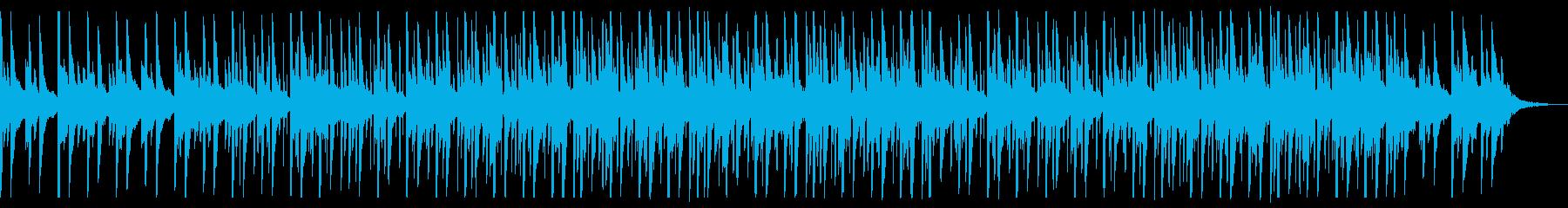 モダンでシンプルな日常の再生済みの波形