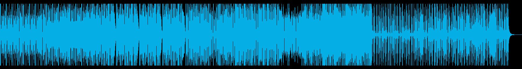 ボイスリードを使った幻想的なエレクトロの再生済みの波形
