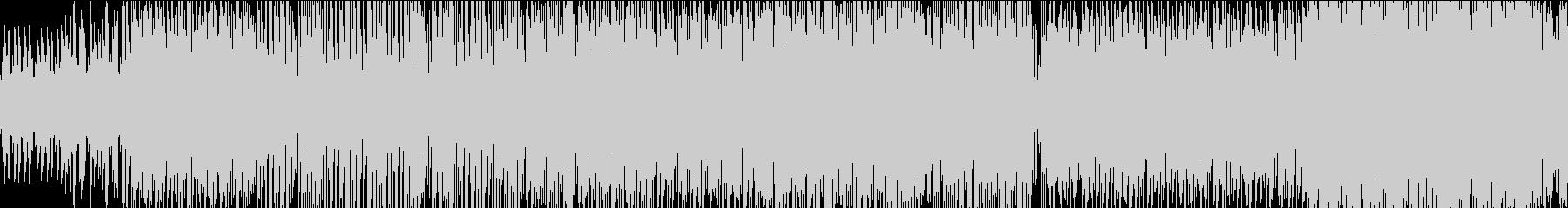 スタイリッシュなトランス風楽曲 ループ可の未再生の波形
