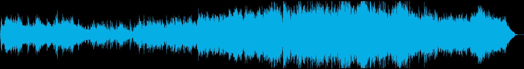 夜の帳が下りるメルヘンチックなBGMの再生済みの波形