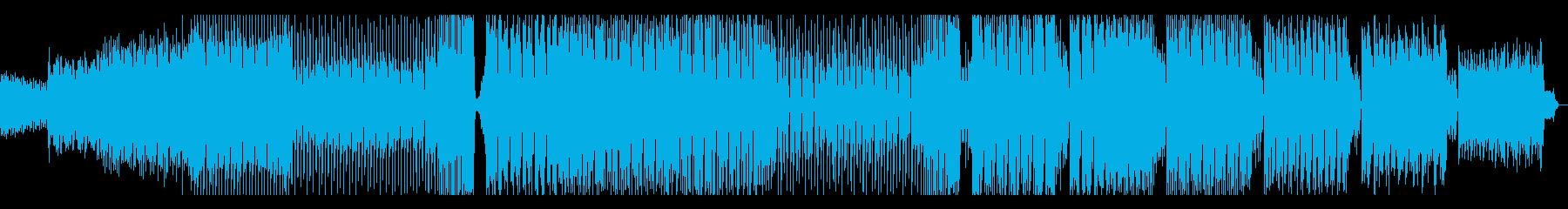 キラキラとしたカワイイハウスの再生済みの波形