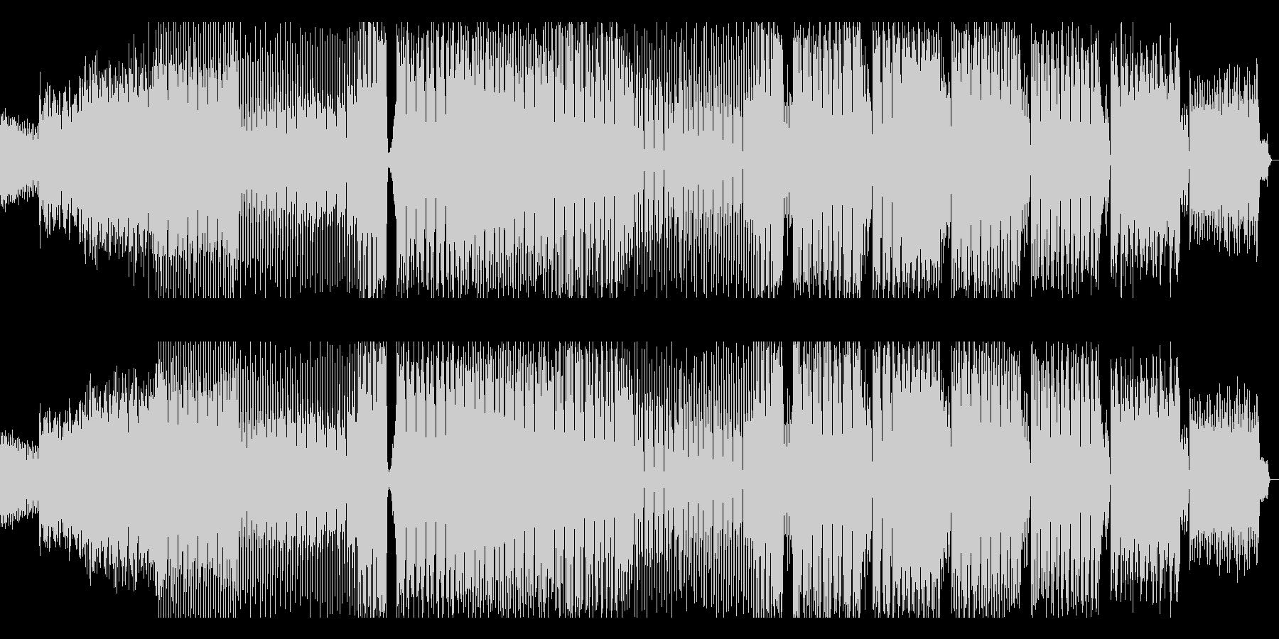 キラキラとしたカワイイハウスの未再生の波形