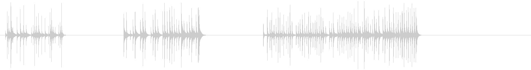 ガラスの鐘-3つの効果;ガラスのベ...の未再生の波形