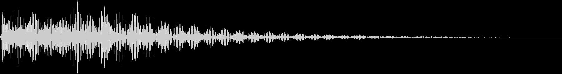 デデン(ミス、キャンセル、ガムラン)の未再生の波形