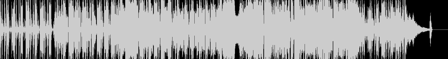 お洒落なフュージョンナンバーの未再生の波形