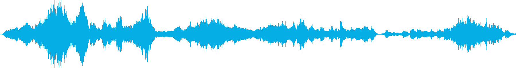 不気味なエピック系BGMの再生済みの波形
