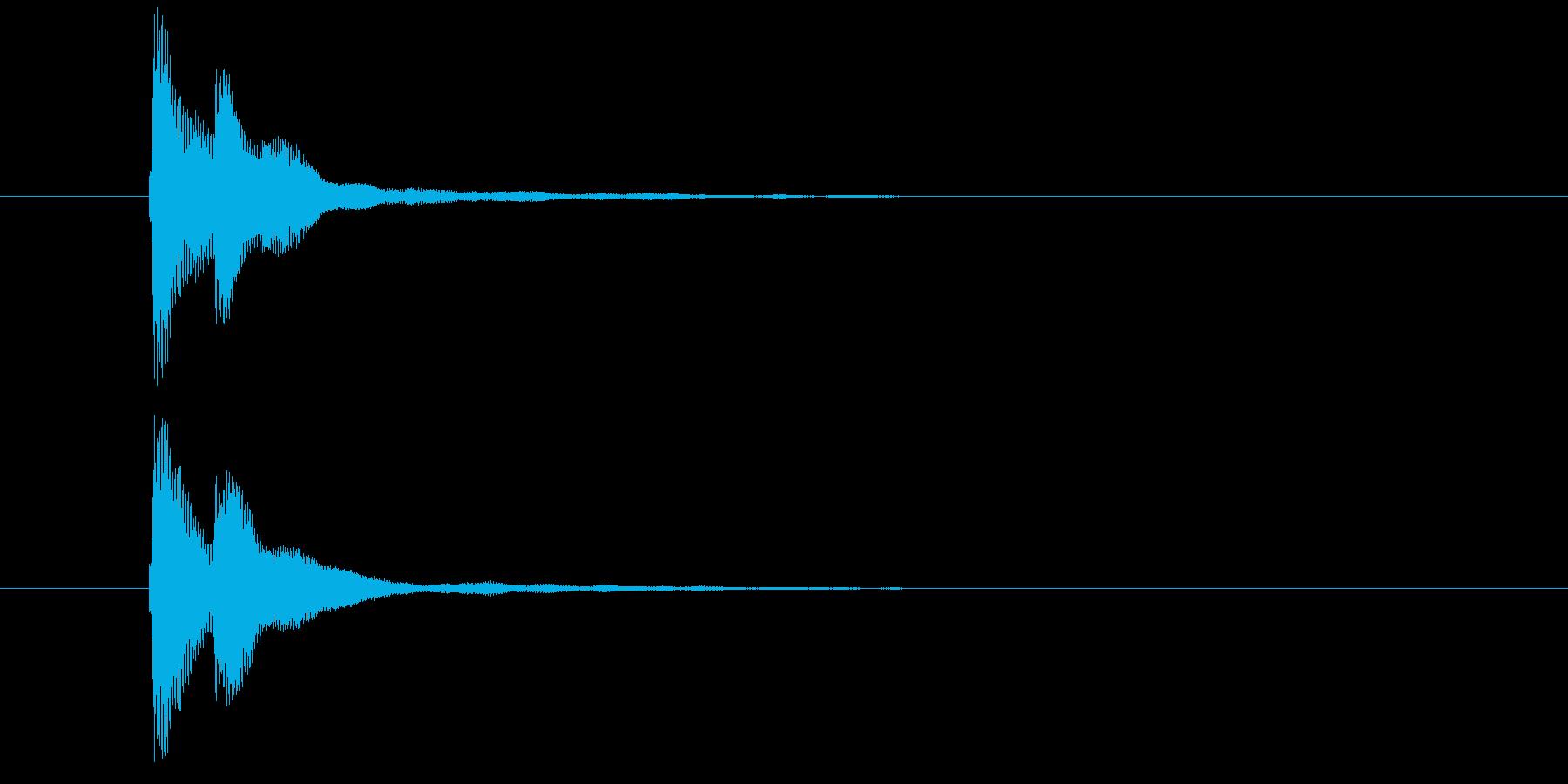 キラン(コイン・メダル・ポイント・閃き)の再生済みの波形